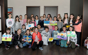 "The company ""Foka"" rewarded the most successful craft works made by little ones"