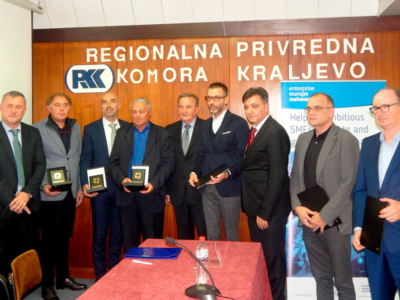 Priznanje Regionalne privredne komore Moravičkog i Raškog upravnog okruga